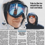 Trip to ice should fire up real cool idea