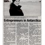 Entrepreneurs in Antartica