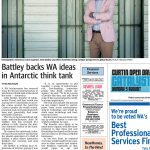 Battley backs WA ideas in Antartica think tank