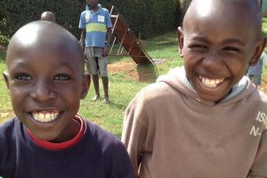 Children from the original One Heart homes in Kapsoya, Kenya